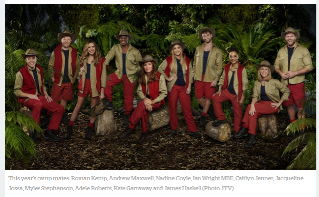I'm a celebrity, test my resilience!